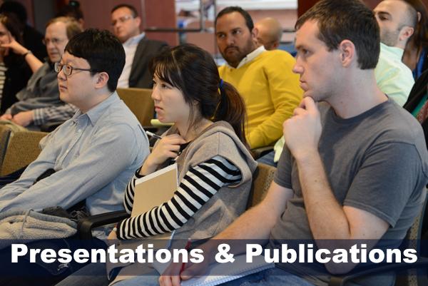 Presentations & Publications.